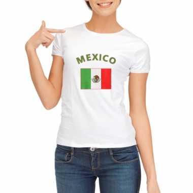 Goedkope mexicaanse vlag t-shirt voor dames