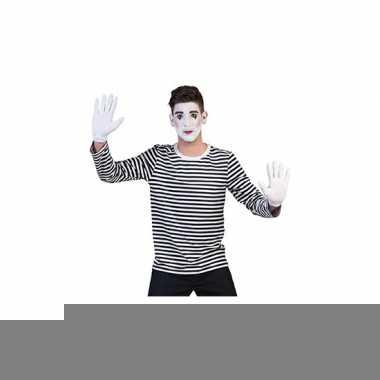 Goedkope mime verkleed shirt voor heren