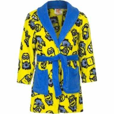 Goedkope minions ochtendjas geel voor jongens