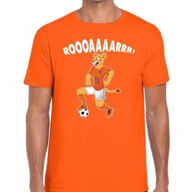 Goedkope nederlands dames elftal supporter shirt leeuwinnen roooaaaar