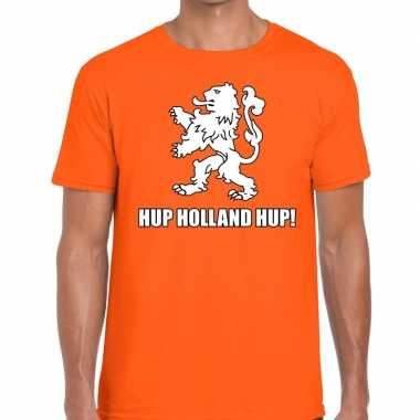 Goedkope nederlands elftal supporter shirt hup holland hup oranje voo