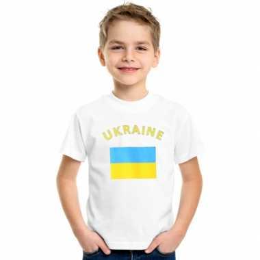 Goedkope oekraiense vlag t-shirts voor kinderen
