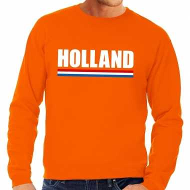 Goedkope oranje holland supporter trui heren en dames