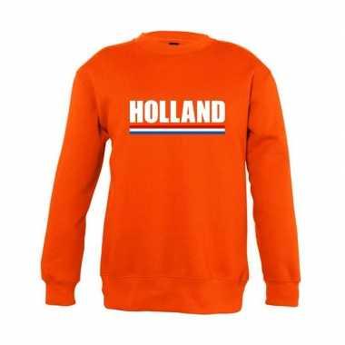 Goedkope oranje holland supporter trui jongens en meisjes
