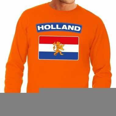 Goedkope oranje holland vlag trui heren en dames
