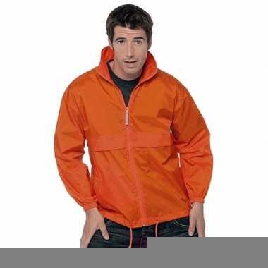 Goedkope oranje koningsdag jas voor volwassenen