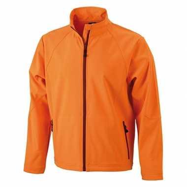 Goedkope oranje polyester heren wind jasje