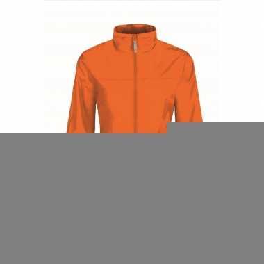 Goedkope oranje supporters jas voor volwassenen