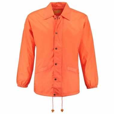 Goedkope oranje windjas volwassenen