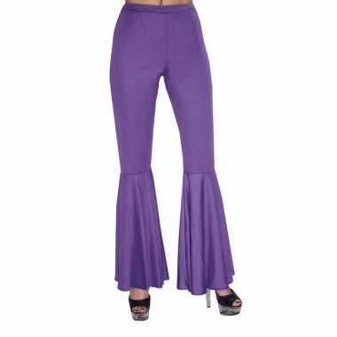 Goedkope  Paarse hippie broek voor kids