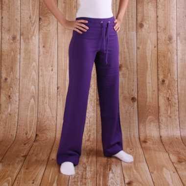 Goedkope paarse joggingbroeken