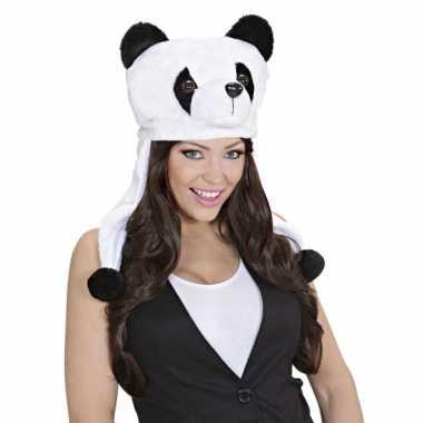 Goedkope pandaberen muts voor volwassenen