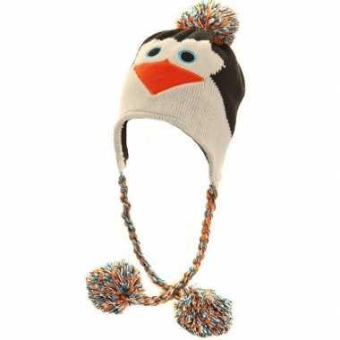 Goedkope peruaanse pinguinmuts voor dames