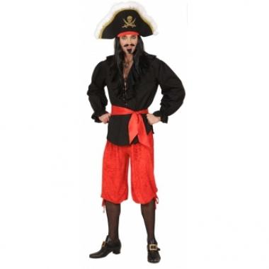 Goedkope piraten broek rood