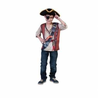 Goedkope  Piraten t-shirt 3D print voor kids