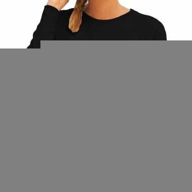 Goedkope politie swat arrestatieteam sweater / trui zwart voor dames