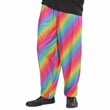 Goedkope regenboog baggy broek jaren 90