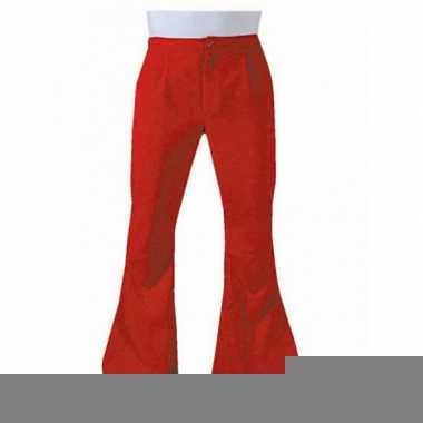 Goedkope rode hippie heren broeken