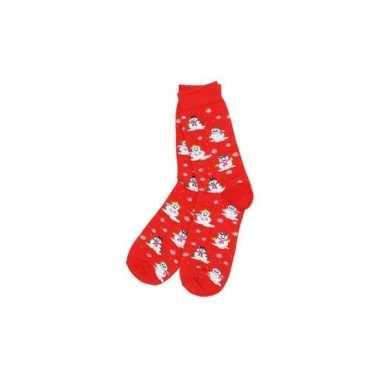 Goedkope rode kerstsokken voor dames en heren