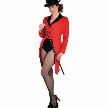 Goedkope rode slipjas voor dames