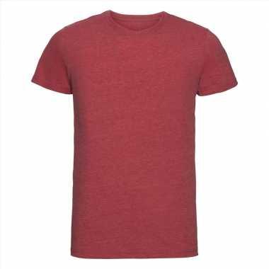 Goedkope rood heren t shirts met ronde hals