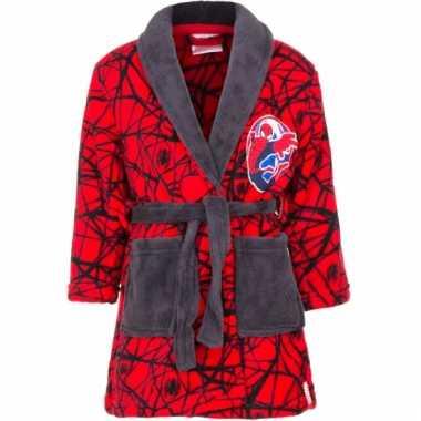 Goedkope spiderman badjas rood