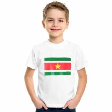 Goedkope suriname vlag t-shirts voor kinderen