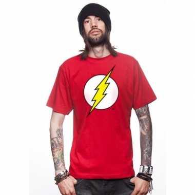 Goedkope the avengers flash t shirt rood voor mannen