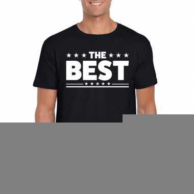 Goedkope the best fun t shirt voor heren zwart