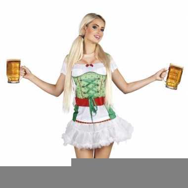 Goedkope verkleed t-shirt oktoberfest tiroler dames