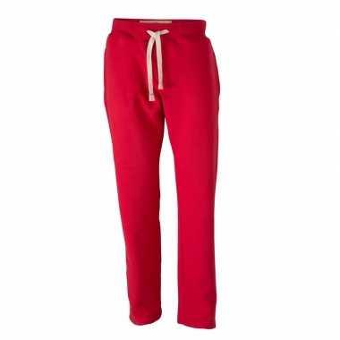 Goedkope vintage joggingbroek voor heren rode