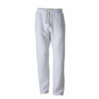 Goedkope vintage joggingbroek wit voor heren