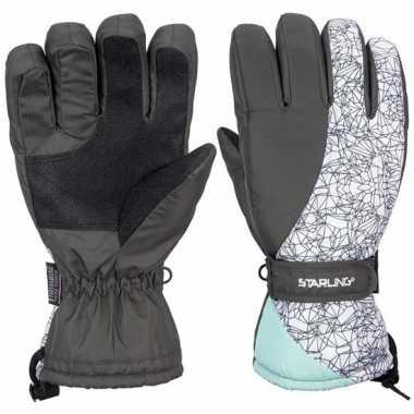 Goedkope wintersport starling noel handschoenen voor volwassenen grij
