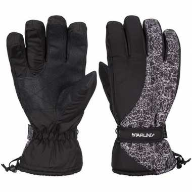 Goedkope wintersport starling noel handschoenen voor volwassenen zwar