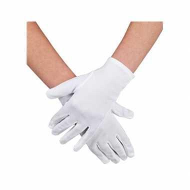 Goedkope witte handschoenen goedkoop
