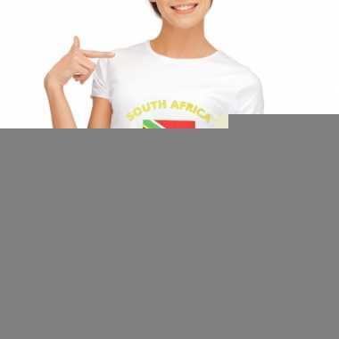 Goedkope zuid afrikaanse vlag t-shirt voor dames