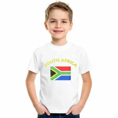 Goedkope zuid afrikaanse vlag t-shirts voor kinderen