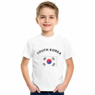 Goedkope zuid koreaanse vlag t-shirts voor kinderen