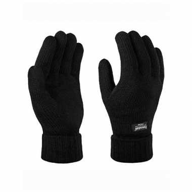 Goedkope zwarte thinsulate winter handschoenen