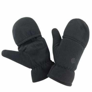 Goedkope zwarte wanten/handschoenen voor dames/heren