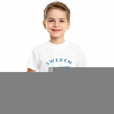 Goedkope zweedse vlag t-shirts voor kinderen