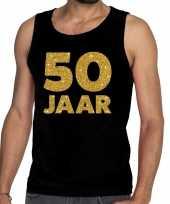 Goedkope 50 jaar fun tanktop mouwloos shirt zwart voor heren