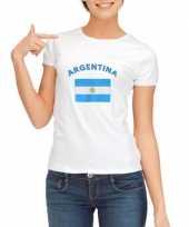 Goedkope argentijnse vlag t-shirt voor dames