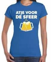 Goedkope atje voor de sfeer fun t-shirt blauw voor dames