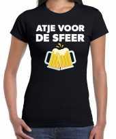 Goedkope atje voor de sfeer fun t-shirt zwart voor dames