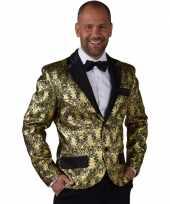 Goedkope barok colbert jasje goud voor heren