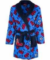 Goedkope blauwe cars badjas voor jongens 10100005