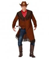 Goedkope cowboy jas en sjaal voor heren