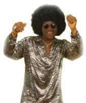 Goedkope disco verkleedkleren zilver overhemd