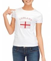 Goedkope engelse vlag t-shirt voor dames